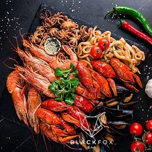 Тарелка морепродуктов, Black Fox Bar - Барановичи