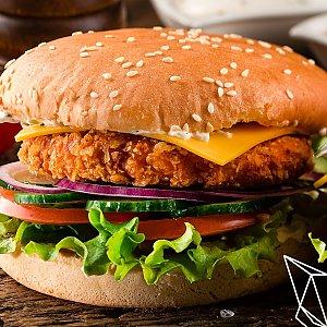 Чикенбургер мини, Black Fox Bar - Барановичи