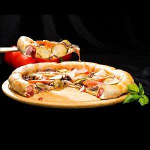 Сосиска в бортик для пиццы 41см, Глория Пицца
