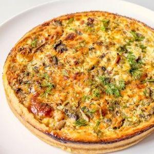 Пирог песочный с оливками, маслинами и помидорами, Штрудель