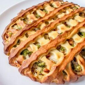 Пирог с красной рыбой и брокколи, Штрудель