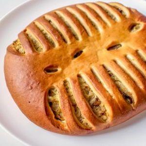 Пирог с капустой и грибами, Штрудель