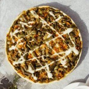 Пирог песочный со спаржевой фасолью и луком, Штрудель