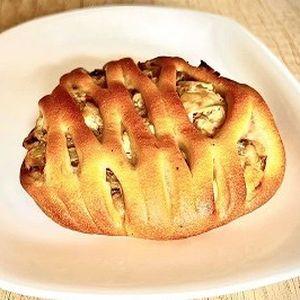 Мини-пирог с красной рыбой и брокколи, Штрудель