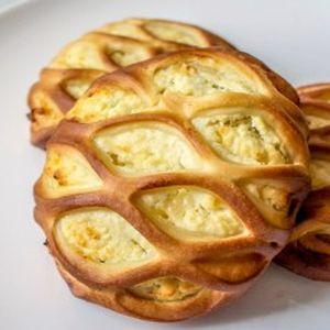 Мини-пирог с творогом и грушей, Штрудель