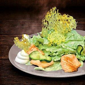 Салат Теплый с лососем, Progresso