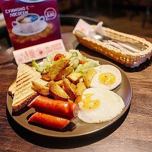 Классический завтрак с колбаской, Progresso