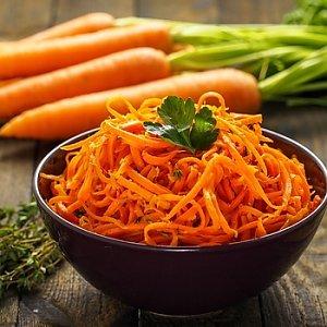 + морковь по-корейски к шаурме, КИНГ