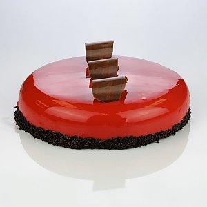 Торт Шоколадный Фрамбуазье (весовое), ТРУХАНОВ