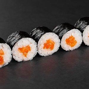 Мини ролл с лососем, SUSHI SHOP