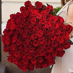 Букет из 101 красной розы, Lotus Flower