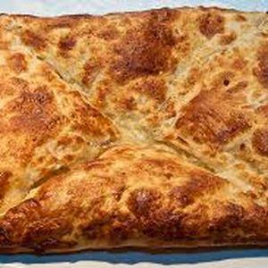 Хачапури с мясом и сыром (свинина), Смаката