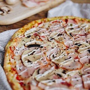 """Пицца """"Бекон и грибы"""" 24см, Pizzburg"""