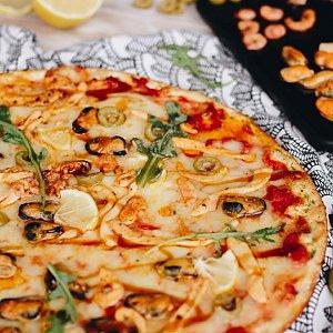 """Пицца """"Морской коктейль"""" 24см, Pizzburg"""