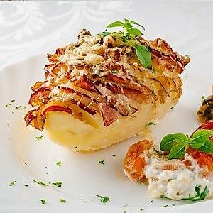 Картофель запечённый с беконом, Te Amo