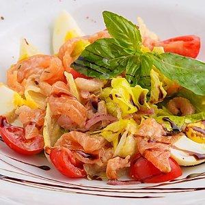 Шеф-салат с лососем, Te Amo
