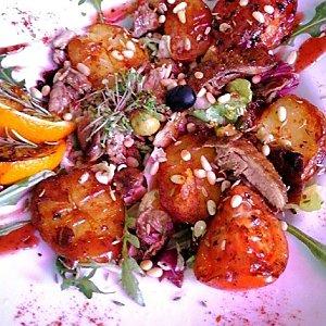 Тёплый салат с уткой и апельсинами, Te Amo