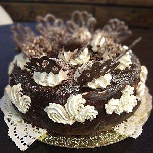 Торт Шоколадно-банановый , Te Amo