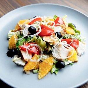 Салат с курицей и апельсином, ОБЛАКО