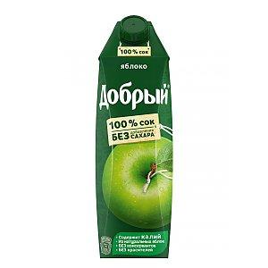 Добрый яблочный сок 1л, Карлион