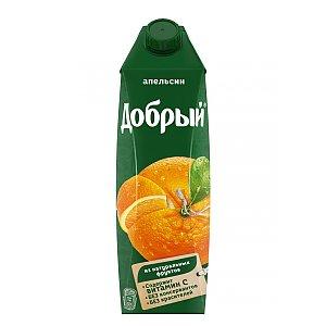 Добрый апельсиновый нектар 1л, Карлион