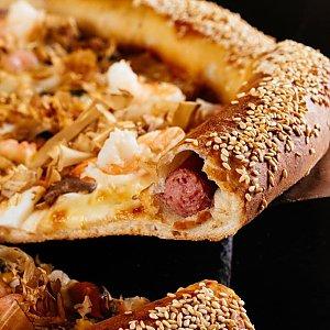 Охотничья колбаска в бортике к пицце 41см, Суши Пицца Маркет - Витебск