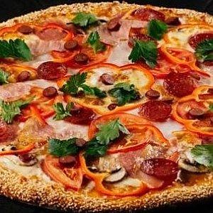 Пицца с мясной начинкой 61см, Суши Пицца Маркет - Витебск