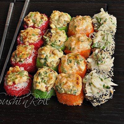 Заказать Запеченный сет Жара, Sushi n Roll