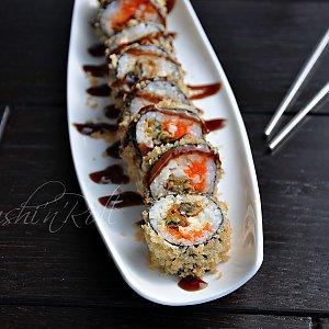 Ролл темпура с мидиями, Sushi n Roll