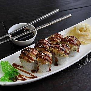 Запеченный ролл Филадельфия, Sushi n Roll