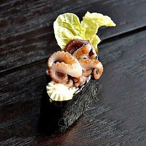Гункан с осьминогом, Sushi n Roll