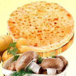 Пирог осетинский с картофелем и грибами (300г), L абрус (Лабрус)
