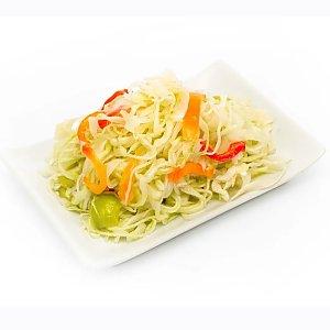 Салат из свежей капусты с перцем, ASIAN FOOD