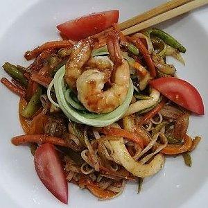 Сифудо с рисовой лапшой, ASIAN FOOD