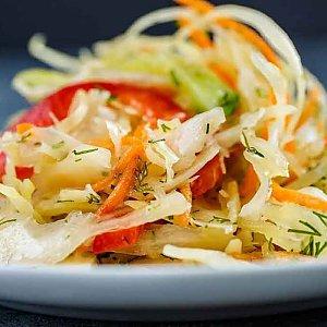 Салат из свежей капусты с перцем, Шаурма Like