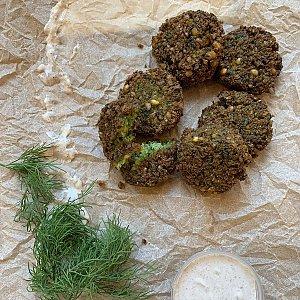 Фалафель с йогуртовым соусом (10шт), Ферма Шаверма