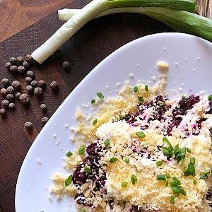 Салат из свеклы с сыром, КУХНЯ