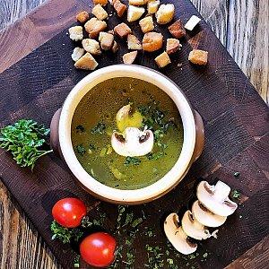 Суп грибной, КУХНЯ