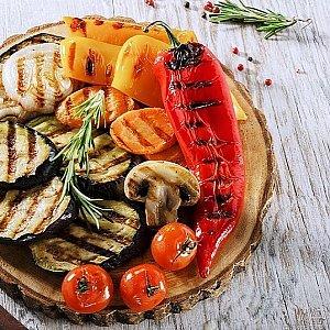 Салат Овощи на гриле, КУХНЯ