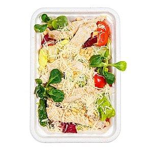 Зеленый салат с филе индейки, КАРАФУТО
