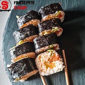 Ролл с дайконом и лососем с/с, Империя Суши