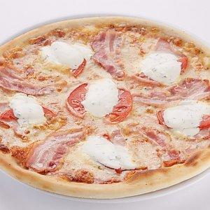 """Пицца """"Со сметанным соусом"""" детская (26см), Pizza Smile - Жодино"""