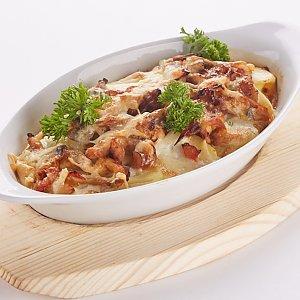 Картофельно-грибная запеканка с курицей, Pizza Smile - Жодино