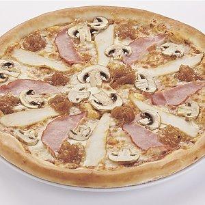 """Пицца """"С ветчиной и грибами"""" большая (32см), Pizza Smile - Жодино"""
