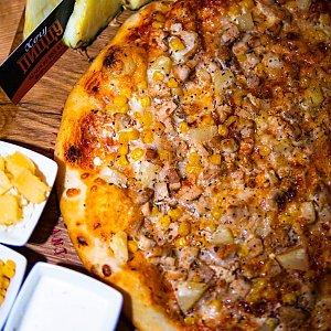 Пицца Гавайи 35см, Хочу Пиццу - Бобруйск