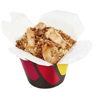 Рис с цыпленком в китайском соусе, Суши WOK - Минск