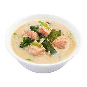 Суп Сливочный с лососем, Суши WOK - Минск