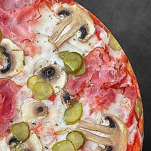 Пицца Деревенская 30см, Сытый Лев