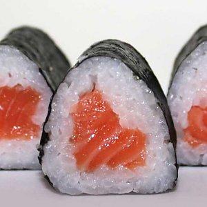 Хосомаки с лососем, КОК