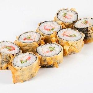 Ролл с опаленным морским окунем, Pizza Smile - Брест
